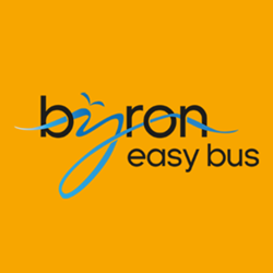 byron easy bus logo for byron car rental website