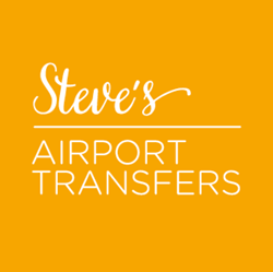 steves airport transfers logo for byron car rental website