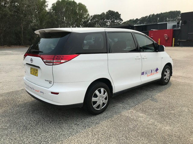 byron bay car rental - 8 seater